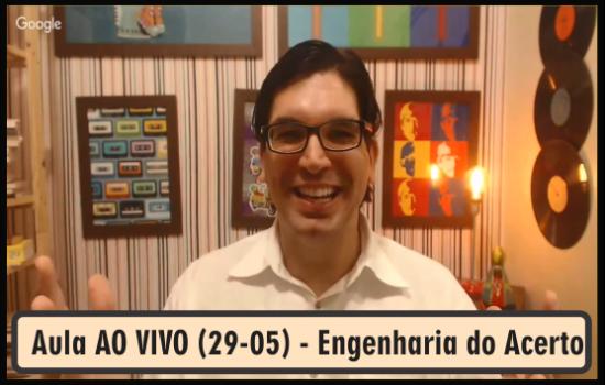 Aula AO VIVO (15-05) - Engenharia do Acerto