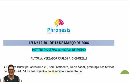 CAMPINAS - Lei nº 12.501 de 13-03-2006 - Institui o Sistema Municipal de Ensino.