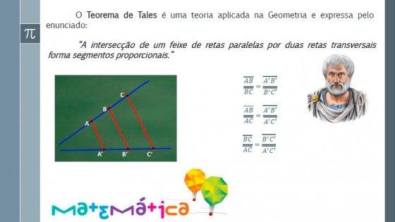 Matemática - Teorema de Tales