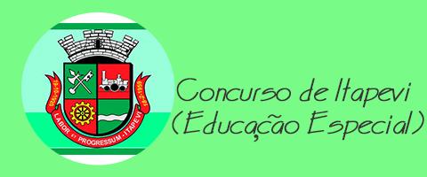Concurso de Itapevi (Educação Especial) - VUNESP