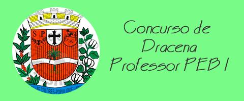 Concurso de Dracena - Professor PEB I