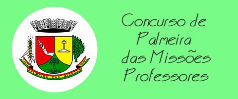 Concurso de Palmeira das Missões - Professor