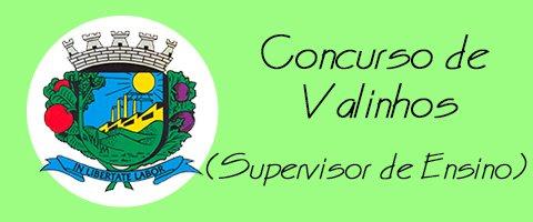 Concurso de Valinhos - Supervisor de Ensino