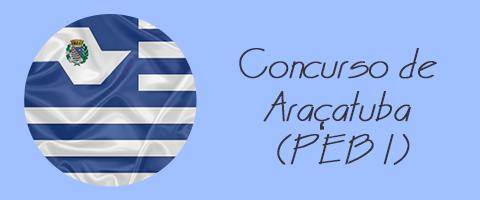 Concurso de Araçatuba (PEB I)