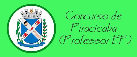 Concurso de Piracicaba (Professor de Ensino Fundamental)