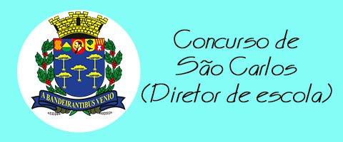 Concurso de São Carlos - Diretor de escola.