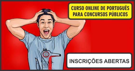 CURSO ONLINE DE PORTUGUÊS PARA CONCURSOS PÚBLICOS